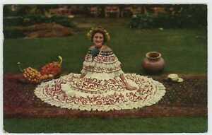 Panama , PU-1953; Panamanian Beauty Wearing National Costume the Pollera
