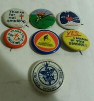 American Lung Assoc League Wheelman Bicycle Coke vintage lot 7 pins
