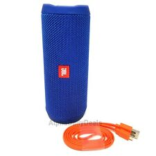 New JBL Flip 4 Blue Speaker Waterproof Portable Bluetooth Wireless Stereo