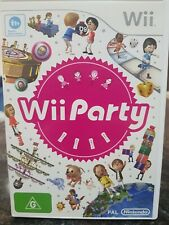 Wii Party - Nintendo Wii / Wii U. better  than Mario party. Free Postage
