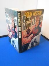INSPECTOR PURBRIGHT: BLUE MURDER: FIRST EDITION FIRST PRINT: VERY GOOD CONDITION