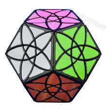 HQ Bauhinia Flower Dodecahedron Magic Cube Speed Puzzle Children Kids Memory Toy
