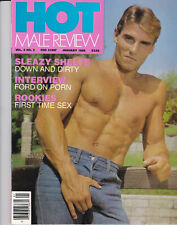 HOT MALE REVIEW - magazine gay - january 1986