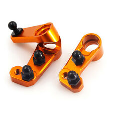 Yeah Racing orange alloy steering arm set fo HPI Sprint 2 1:10 RC car SPT2-042OR