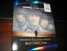 Saving Private Ryan; Blu Ray; New + Slipcover;Sapphire Series;2 Disc;Academy Win