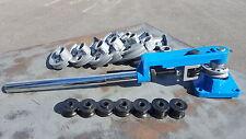 Multi-Purpose Pipe Bending Tool Kit  Round / Square Metal Tube & Pipe Bender