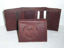 BUFFALO SABRES   Leather TriFold Wallet     NEW     dkb z+