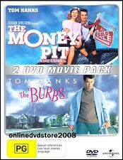 The MONEY PIT & BURBS (Tom HANKS) Double COMEDY Movie Pack (2DVD SET) NEW SEALED