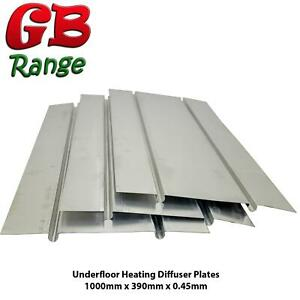 UFH Diffuser Plates Aluminium Heat Spreader Water Underfloor Heating