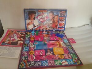 Mike Reads Pop Quiz Board Game 1985 Waddingtons Great Condition