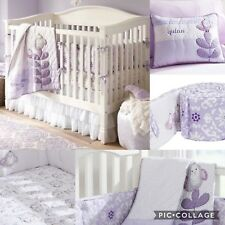 Pottery Barn Kids Quinn Nursery Crib Bedding Set Bumper Sheets Snowbirds