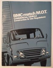 BMC Mot construcción de vehículos comerciales y uso regulaciones 1967 Libro-BL Leyland