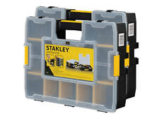 Stanley TWIN PACK SortMaster Parts Organiser Tool/Screw Storage Case/Box LARGE