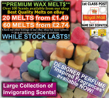 10 Highly Scented Soy Wax Melts Designer Fragranced Perfume Type **BUY5✔ PAY4✔*a
