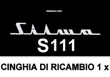 ★CINGHIA DI RICAMBIO MOTORE 1 x PROIETTORE SILMA S 111 SUPER 8 mm ★