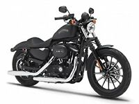 Maisto 1:18 Harley Davidson 2014 Sportster IRON 883 BLACK MOTORCYCLE BIKE Model