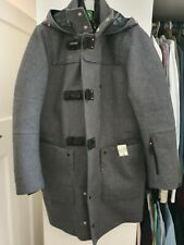 Ma Strum Duffle Coat With Detachable Liner Size Small