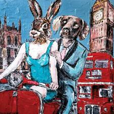 GILLIE AND MARC. Direct from artists. Limited Edition Art Print. London Vespa