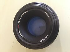 MINOLTA MAXXUM AF 50mm f/1.7 Lens Sony Mount- Clean and clear!