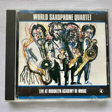 World Saxophone Quartet/Live At Brooklyn Academy of Music-BLACK SAINT CD France