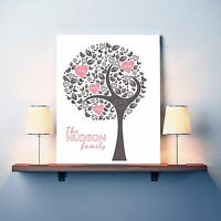 FAMILY TREE | Personalised print | FREE POSTAGE