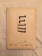 USS HORNET CVS-12 WESTPAC DEPLOYMENT CRUISE BOOK 1960 NAVY W/extras (C)