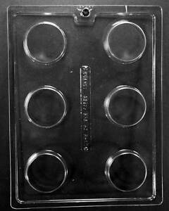 AO138 Plain Oreo Cookie Chocolate Candy Mold with Instructions