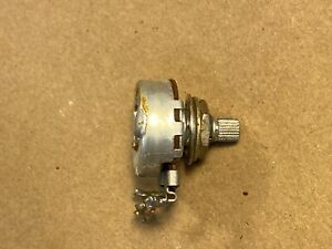 Vintage 1963 Centralab 500k ohm Audio Taper Potentiometer CRL Guitar Amp Pot