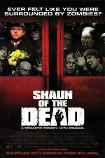 "2004 Shaun of the Dead Movie Silk Poster 11/""x17/"" 24/""x36/"" Zombie Horror"
