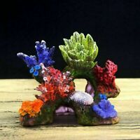 Resin Coral Cave Living Reef Fish Tank Aquarium Ornaments Quarium Decoration