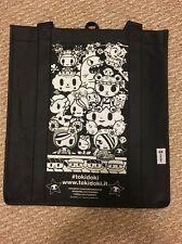 NIB SDCC 2016 Tokidoki Sushi Shopper Tote Bag NEW Black And White Bag