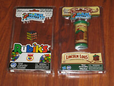 NEW! World's smallest Rubik's Cube & World's Smallest The Original Lincoln Logs