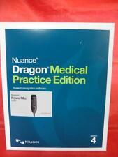 Nuance Dragon Medical Practice Edition 4 with Power Mic III