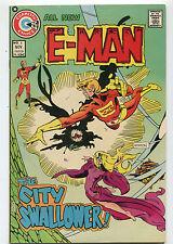 E-Man # 5 VF  All New  The City Swallower Charlton Comics  CBX4A