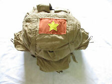 Viet Cong NLF Combat Rucksack ( Backpack ) - VC -  3 pockets,