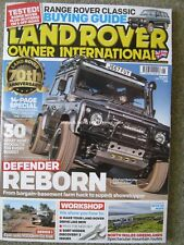 Land Rover Owner International May 2018 Defender 90 Series I Range Rover Classic