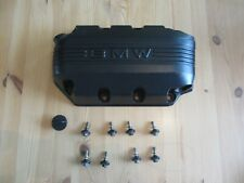BMW K75 POWDER COATED RIGHT SIDE ENGINE COVER W/ BOLTS & OIL FILLING PLUG