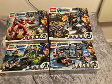 Lego Marvel Avengers Sets 76164,76143,76142,76167 (brand New Sealed)