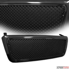 For 04-08 Ford F150 Blk Bentley Mesh Front Hood Bumper Grill Grille Replacement