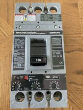 Siemens Hfxd63B150, 150 Amp, 600 Volt, 3 Pole, Circuit Breaker-used Tested
