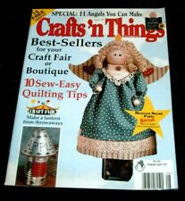 Crafts 'n Things Magazine August 1999 - 11 Angels you can make Craft Fair Seller
