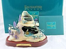 """WDCC """"Ariel's Secret Grotto"""" from Disney's The Little Mermaid in Box with COA"""