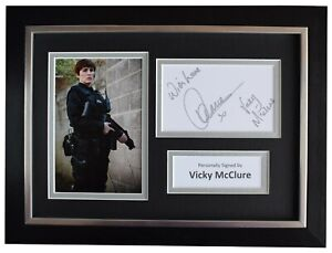 Vicky McClure Signed A4 Framed Autograph Photo Display Line of Duty TV AFTAL COA