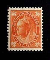Canadian Stamp, Scott #72 8c 1897 PSE GC F 70 M/NH. Vertical wove paper.