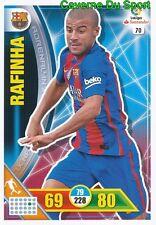 070 RAFINHA BRAZIL FC.BARCELONA CARD ADRENALYN LIGA 2017 PANINI