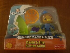 Octonauts Dashi and the surfer snail New