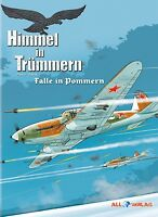 HIMMEL IN TRÜMMERN 4 VZA LUXUS-HC EA lim.33 Ex+signed Artprint ME 262 ALL-Verlag