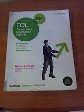 LIBRO DE TEXTO Formacion y orientacion Laboral ( FOL)