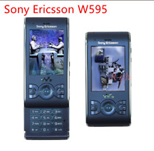 Original Unlocked Sony Ericsson W595 FM Radio Bluetooth 3.15MP Camera Cellphone
