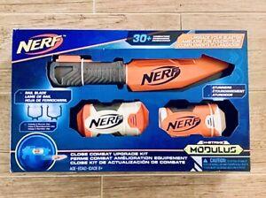 Nerf N-Strike Modulus Close Combat UPGRADE KIT NEW Stunners Rail Blade Knife